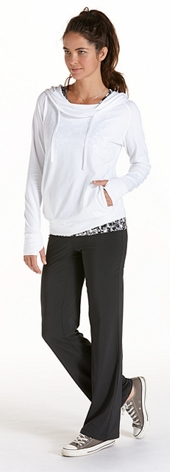ZnO Cowl Neck Pullover Outfit