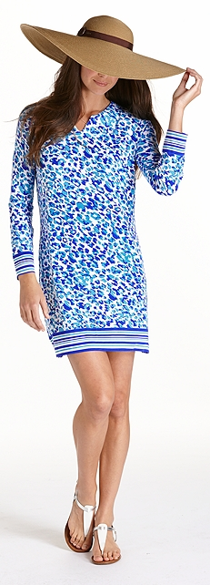Ocean Glimmer Antigua Tunic Outfit at Coolibar