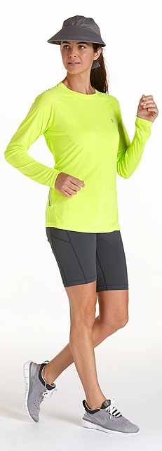 Sport Tee & Active Shorts Outfit at Coolibar