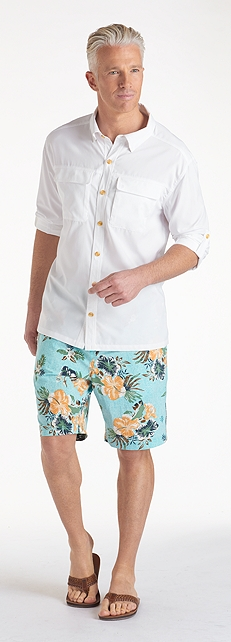 Men's Travel Shirt Outfit at Coolibar