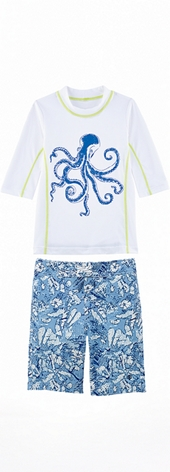 Octopus Surf Shirt Outfit