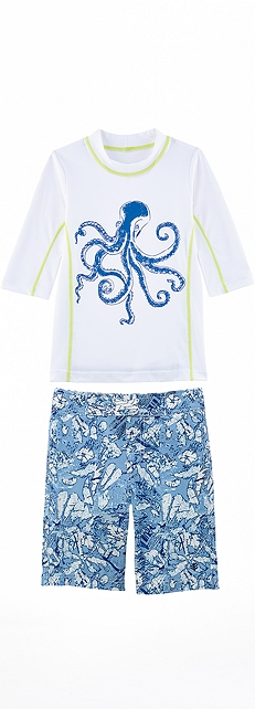 Octopus Surf Shirt Outfit at Coolibar