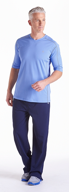 Cool Fitness Shirt & Pants Outfit at Coolibar