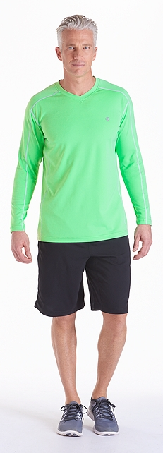 Cool Fitness Shirt & Shorts Outfit at Coolibar