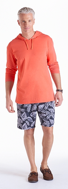 ZnO Traverse Hoodie & Swim Trunks Outfit