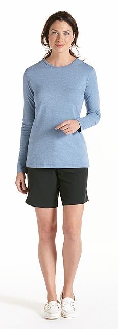ZnO Long Sleeve T-Shirt & Board Shorts Outfit at Coolibar