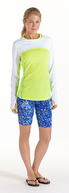 Convertible Swim Shirt Outfit