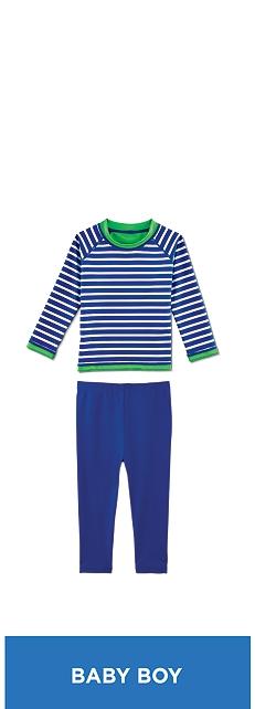 Baby Reversible Rash Guard Outfit at Coolibar