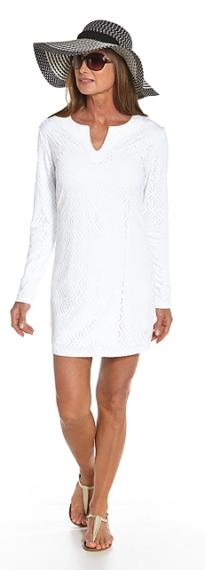 Crochet Beach Tunic Outfit at Coolibar