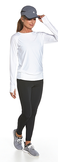 Banded Fitness Tee Outfit