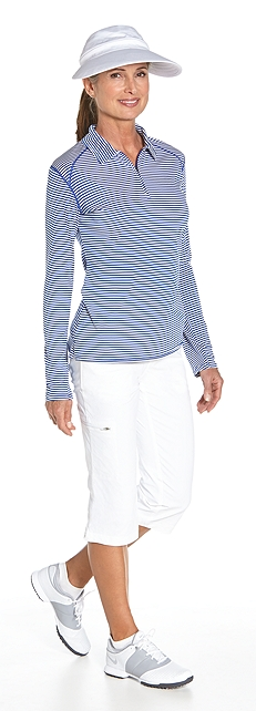 Sport Polo & Travel Crops Outfit at Coolibar