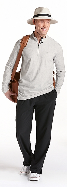 ZnO Summit Quarter Zip Outfit at Coolibar