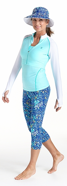 Convertible Swim Jacket Outfit