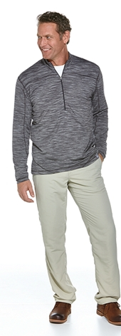 Merino Wool Quarter Zip Outfit