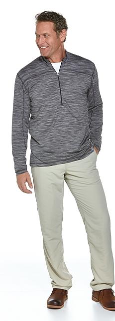 Merino Wool Quarter-Zip Outfit