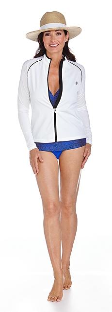 Halter Tankini & Bikini Bottom Outfit at Coolibar