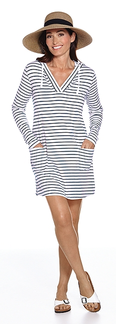 Beach Cover-Up Dress Outfit at Coolibar
