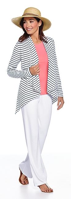 ZnO Sun Wrap & Beach Pants Outfit