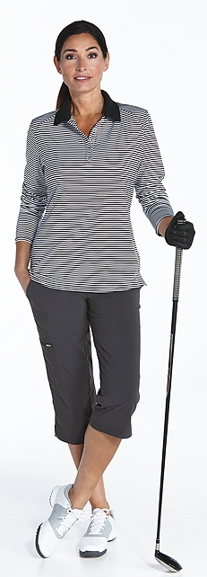 Performance Polo & Travel Crops Outfit