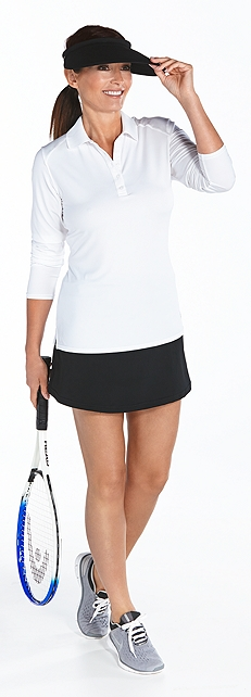 Performance Polo & Skort Outfit at Coolibar