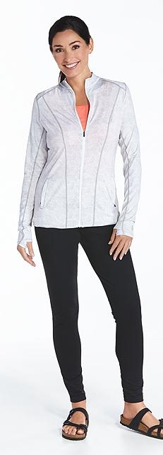 Athletic Jacket & Yoga Leggings Outfit