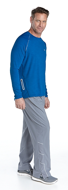 Long Sleeve Running Shirt & Sport Pants Outfit at Coolibar