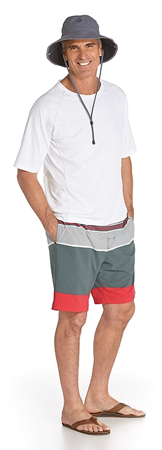 Swim Shirt & Island Swim Trunks Outfit at Coolibar