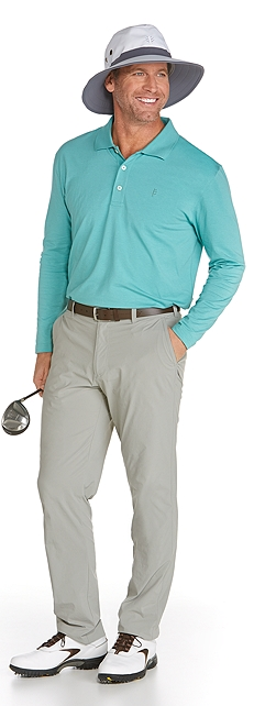 Long Sleeve Polo Shirt Outfit at Coolibar