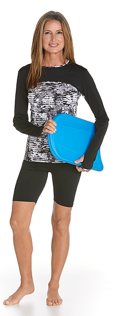 Convertible Swim Shirt & Swim Shorts Outfit at Coolibar