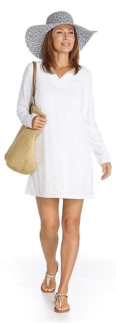 Crochet Beach Tunic Outfit at Coolibar