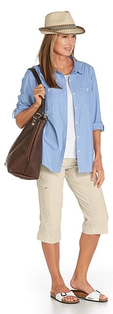 Light Chambrey Shirt Outfit