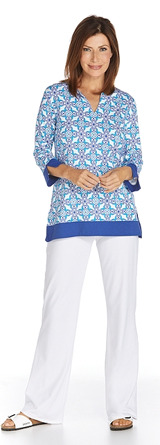 St. Lucia Tunic Top Outfit at Coolibar