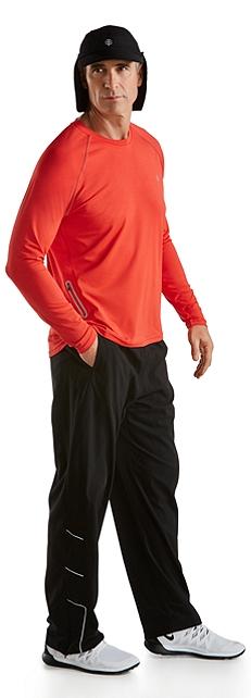 Sunbreaker Running Cap & L/S Running Shirt Outfit at Coolibar