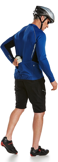 Cycling Jersey & Sport Shorts Outfit at Coolibar