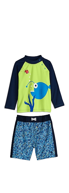Baby Rash Guard Outfit