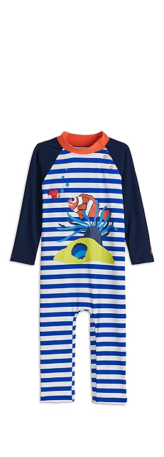 Baby One-Piece Swimsuit Outfit at Coolibar