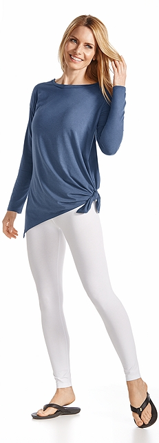 Tunic Tee & Leggings Outfit at Coolibar