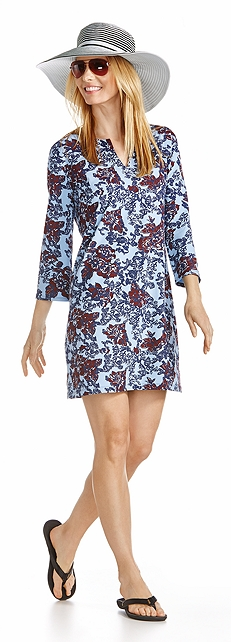 Oceanside Tunic Dress Outfit at Coolibar