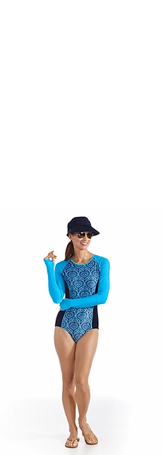 Long Sleeve Swimsuit Outfit at Coolibar