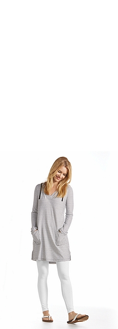 Cover-Up Dress & Legging Outfit at Coolibar