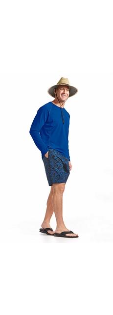 L/S Swim Shirt & Island Swim Trunks Outfit