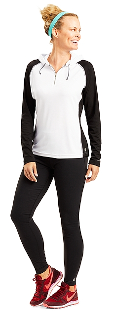 Workout Hoodie & Yoga Leggings Outfit at Coolibar