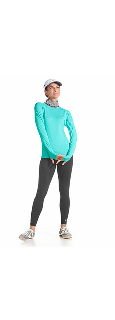 L/S Fitness Shirt & Yoga Leggings Outfit