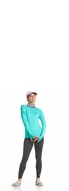 L/S Fitness Shirt & Yoga Leggings Outfit at Coolibar