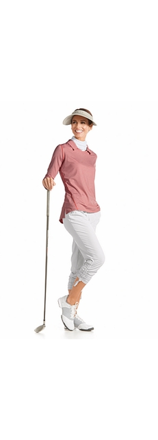 Long Sleeve Golf Polo Outfit
