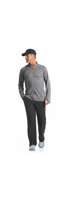 Workout Jacket & Sport Pants Outfit