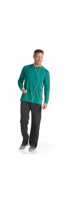 L/S Workout Shirt & Sport Pants Outfit