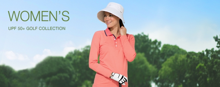 Women's Sun Protective Clothing - UPF 50+ Protection for Serious Female Golf Athletes