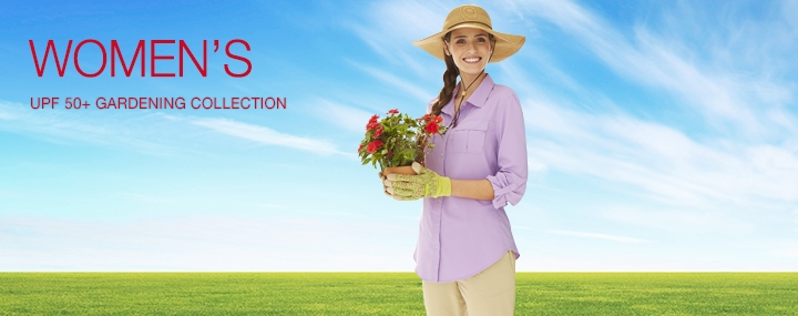 Women's Sun Protective Swimwear and Clothing - The UPF 50+ Protection for Women's Gardening Clothing and Sun Hats