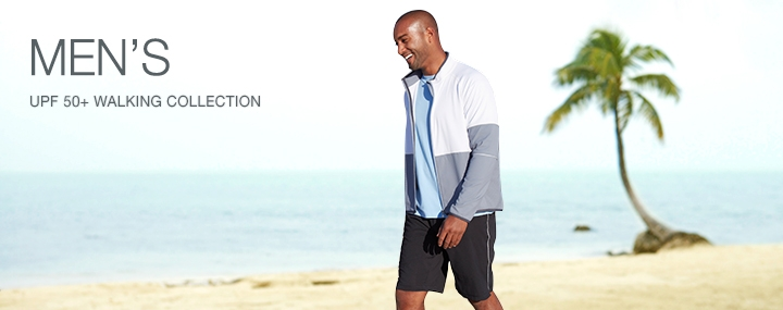 Men's Sun Protective Swimwear and Clothing - The UPF 50+ Protection for Men's Walking Activewear